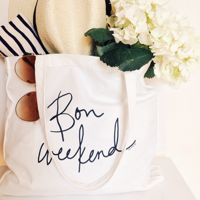 The Bon Weekend Tote, $20