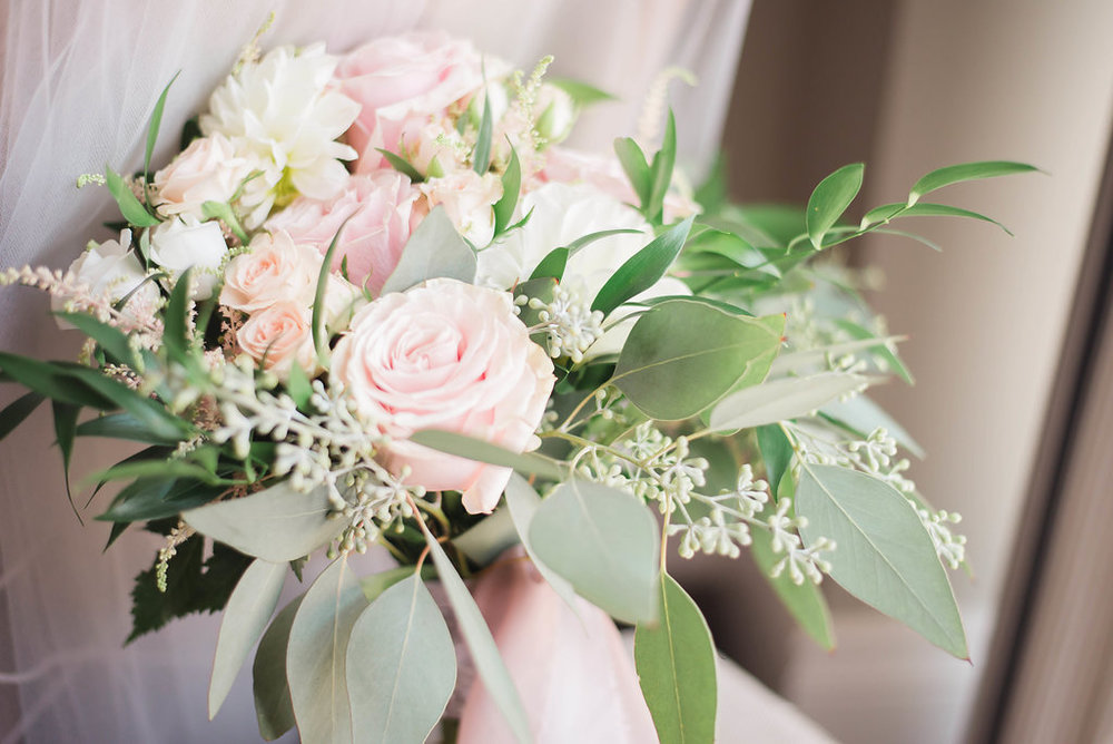 Blush & White  Summer Wedding -