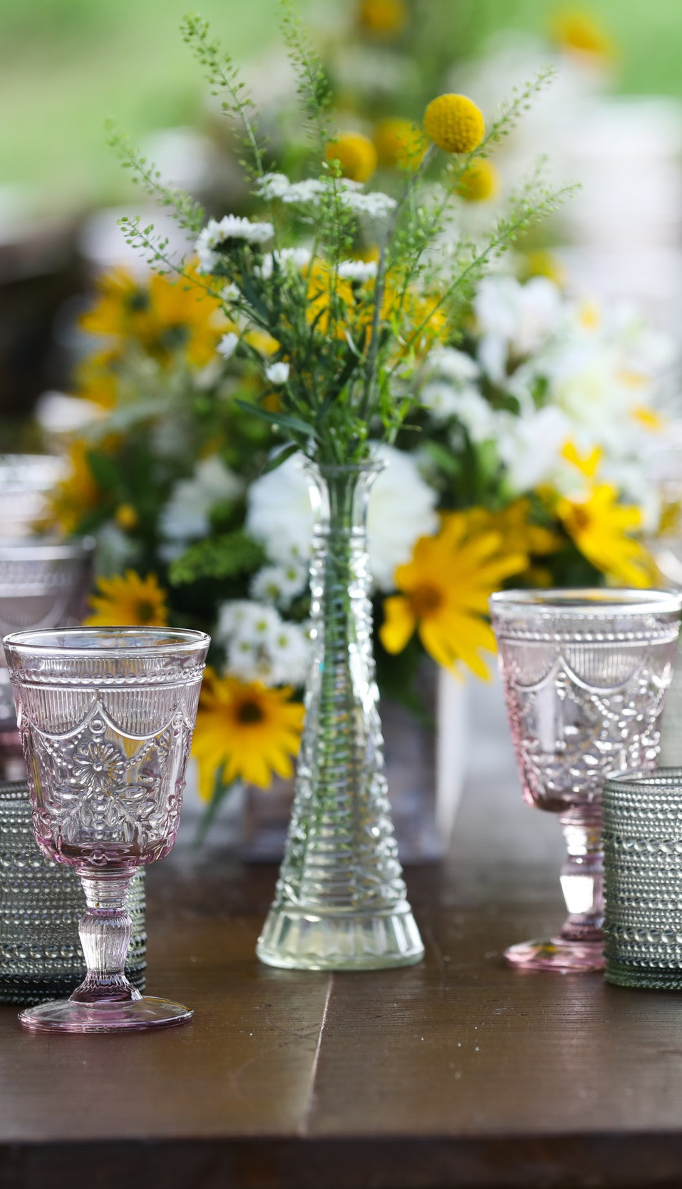 Eclectic Glass Bud Vases $2/per