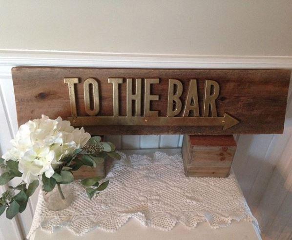 Bar Sign $5