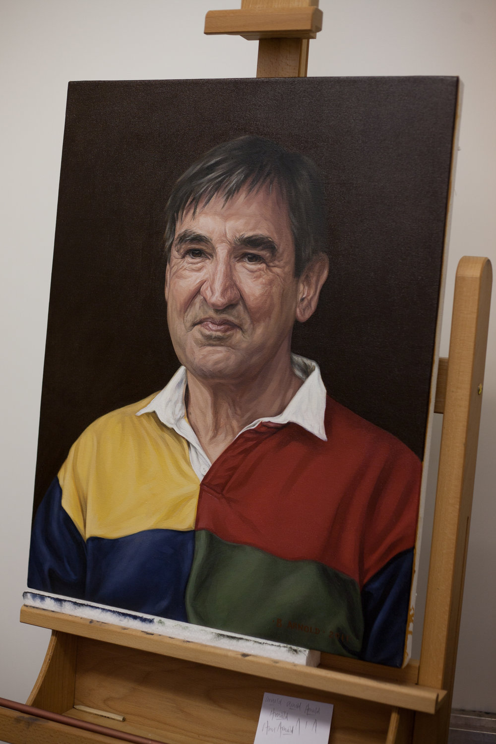 'Dr. Ian Kerr' - 2011 - oil on canvas