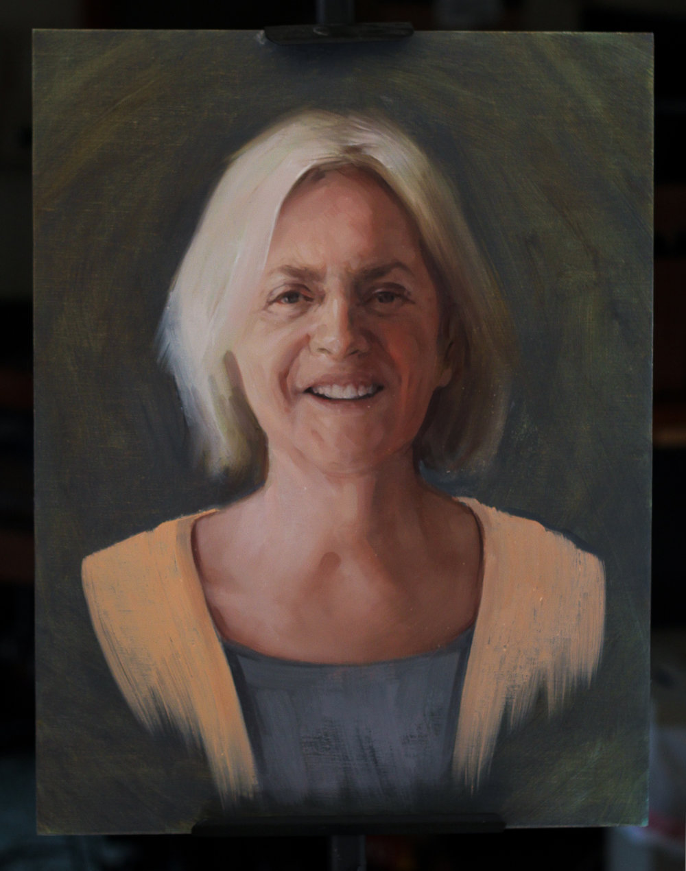 "'Ann Arnold' - 2016 - 18"" x 14"" - oil on linen"