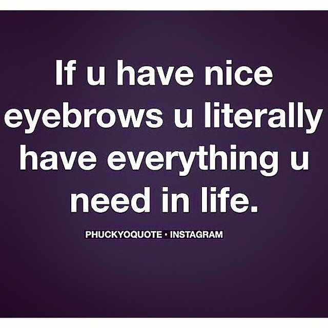 Don't have them? Come get them!  #alibithesalon #truth ~$20 brow arching~ 😘
