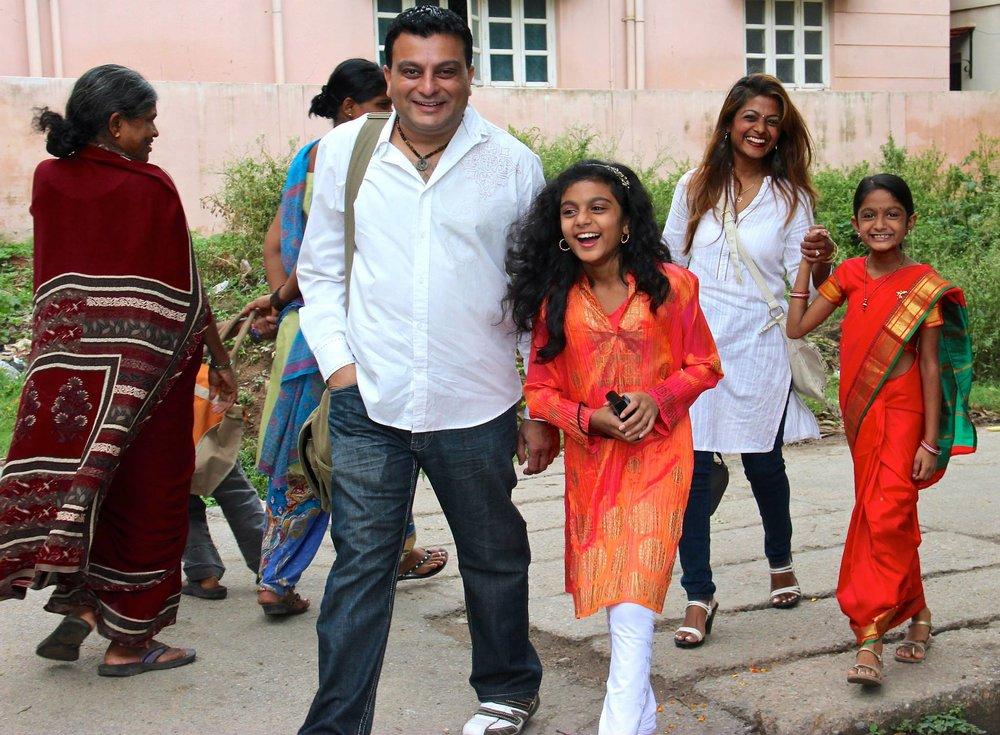 Parmar Family  Beejal, Yogi, Shivani & Khushani