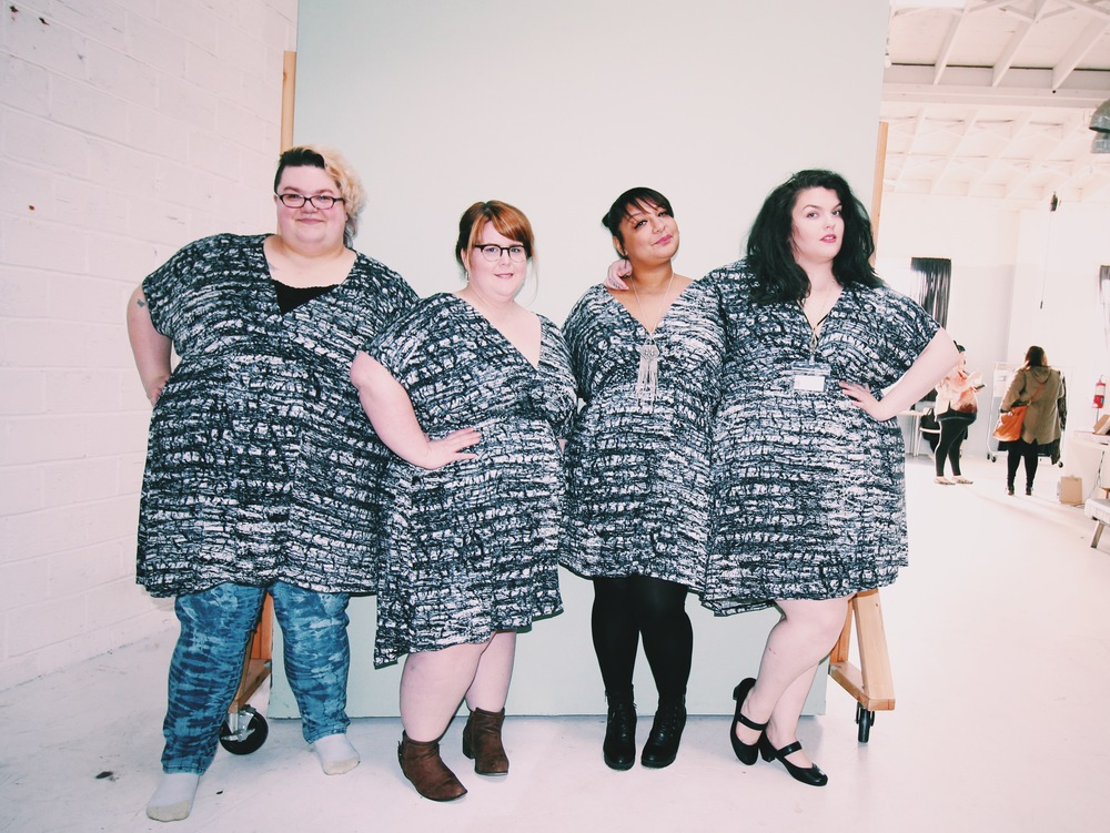Thank you Amber, Nicole, Coco, and Caitlin for rocking our wrap dress so beautifully!