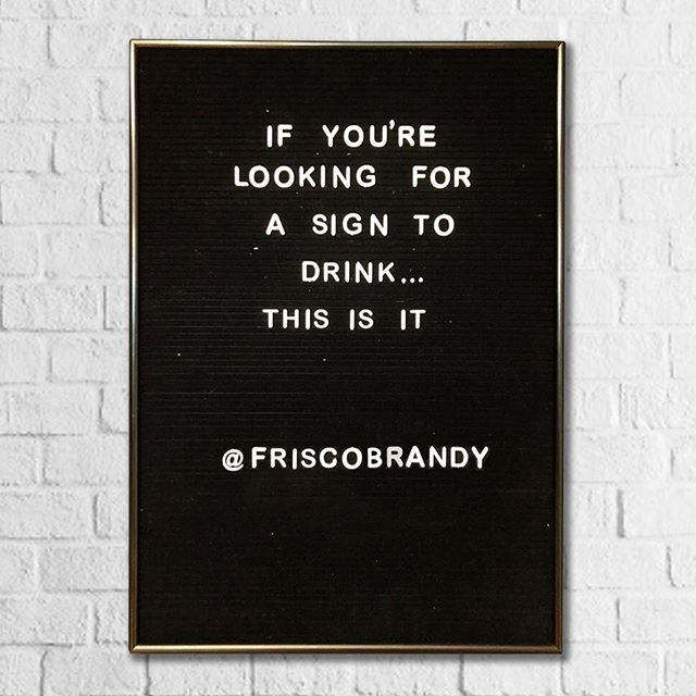 This was a fun post for @friscobrandy