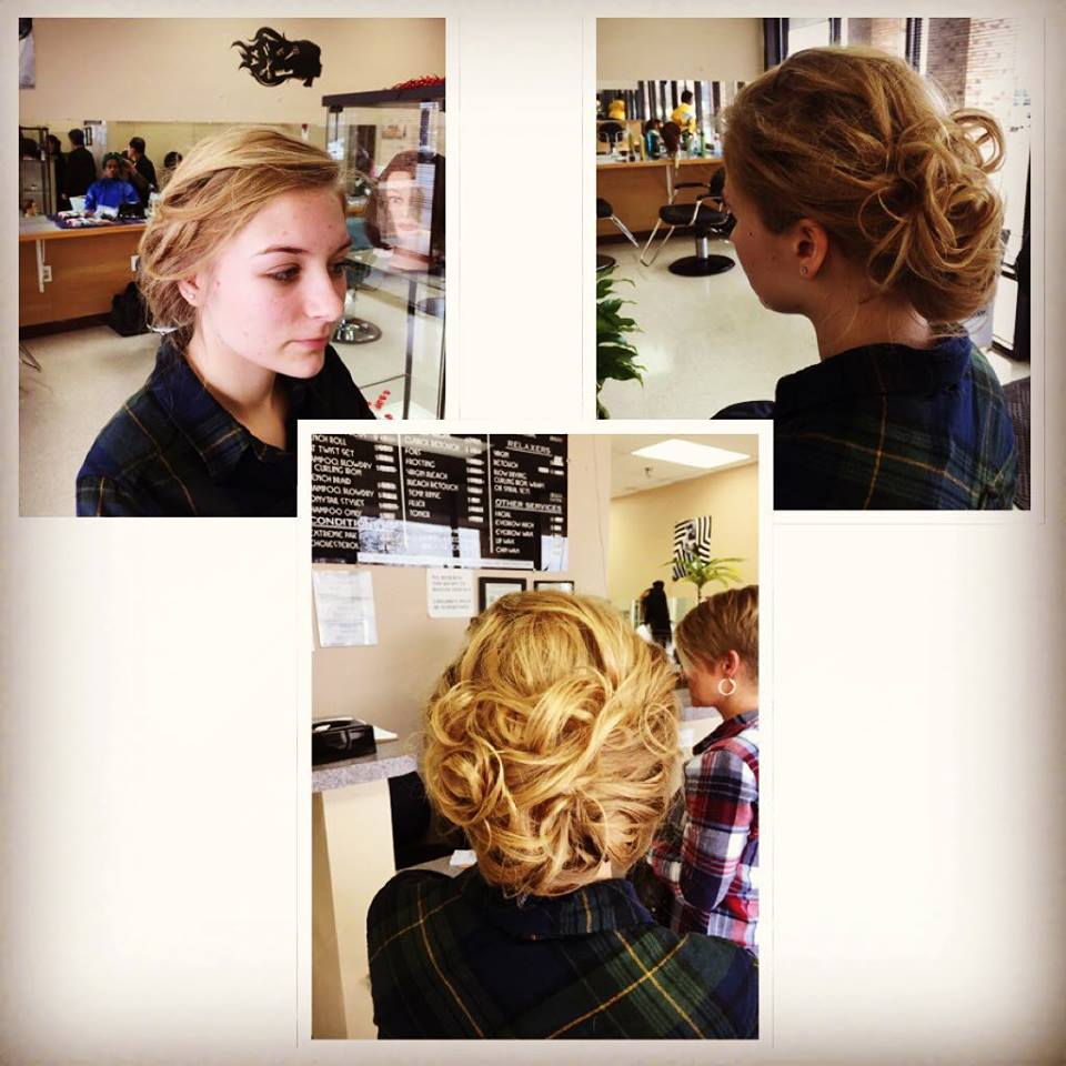 Ring Dance Updo - 2016