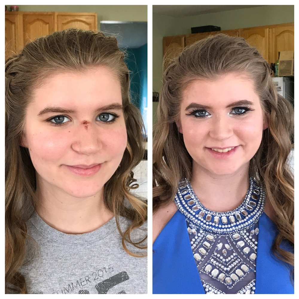 Hair & Make-up (Prom 2017) Blemish Cover-Up