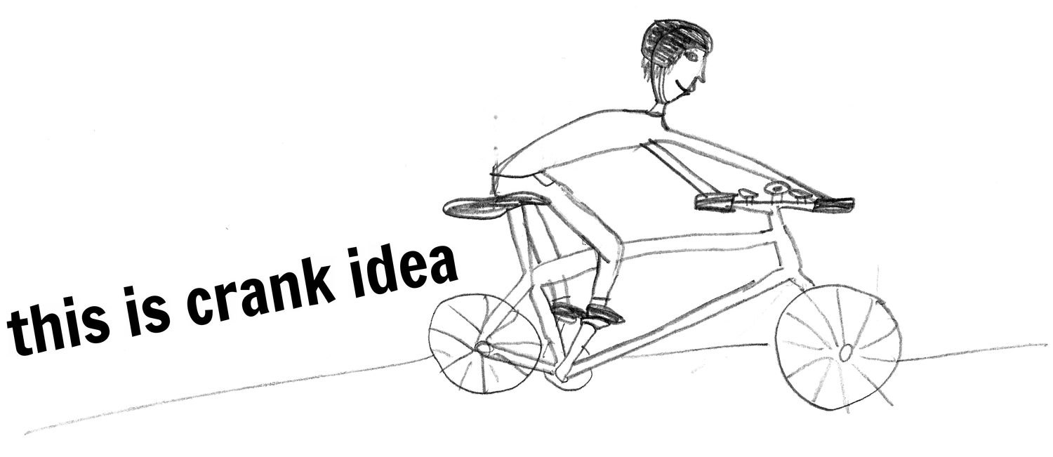 this is crank idea