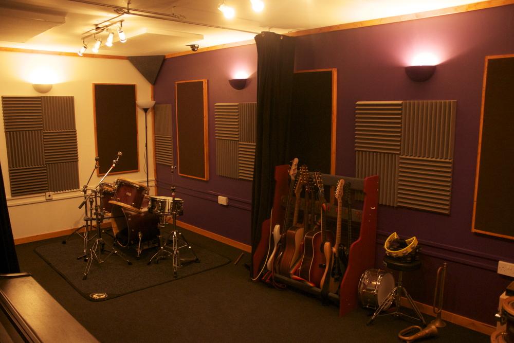 Styles Recording Studio Exeter (drum room)