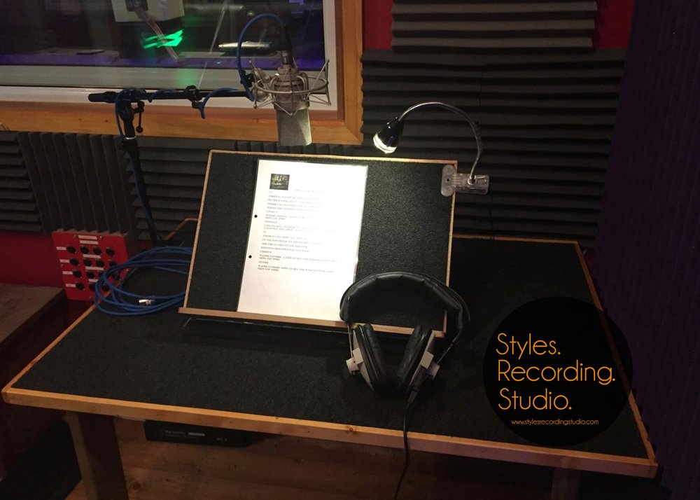 Audio Book Recording Voice Over