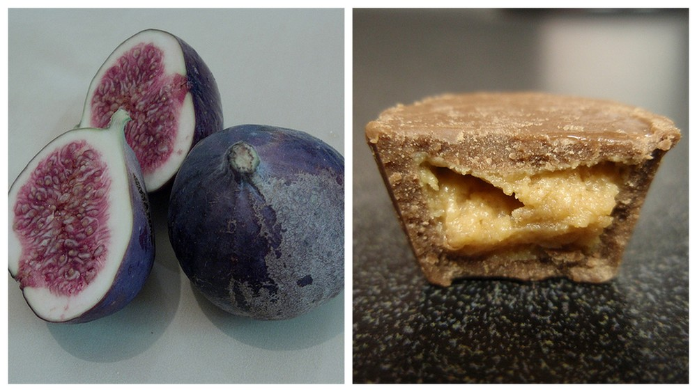 Figs and Reese's.