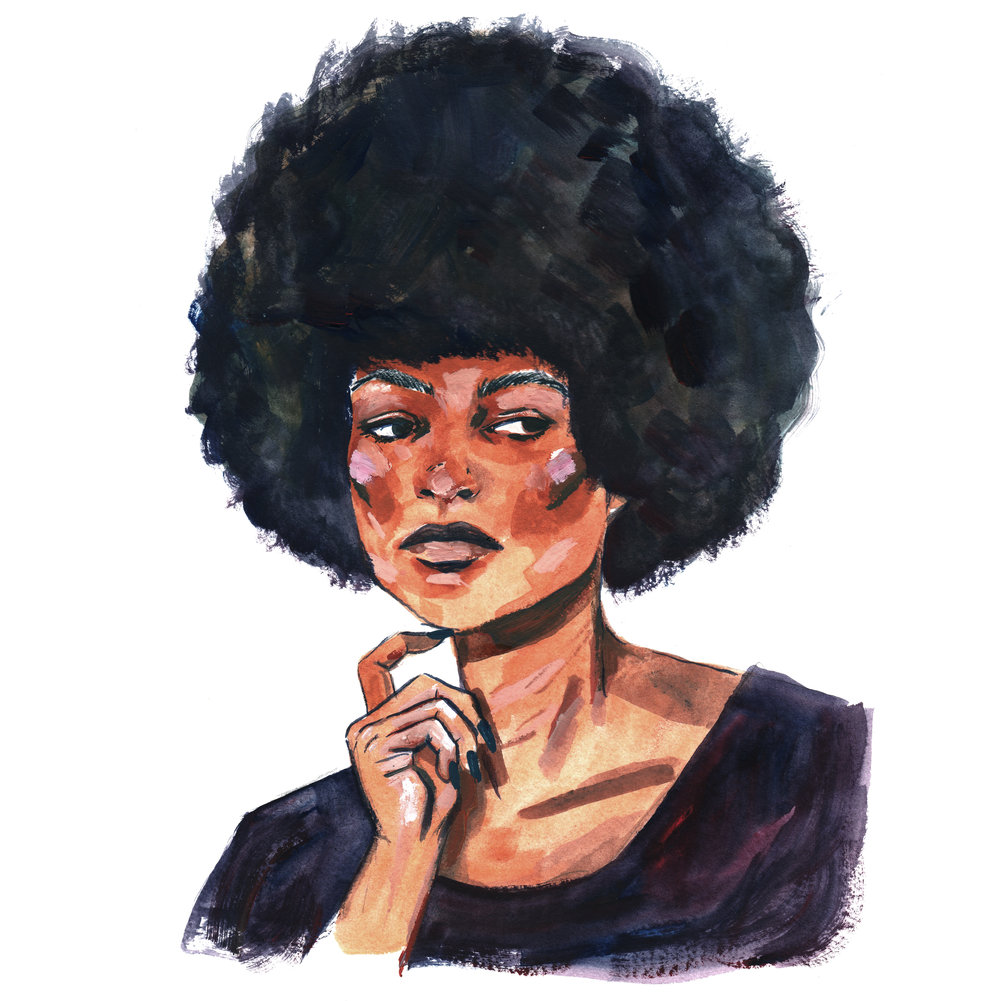 Illustrated Impact: Angela Davis