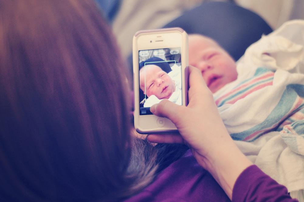 Christine Krawiec Photography - Philadelphia Newborn Hospital Photographer