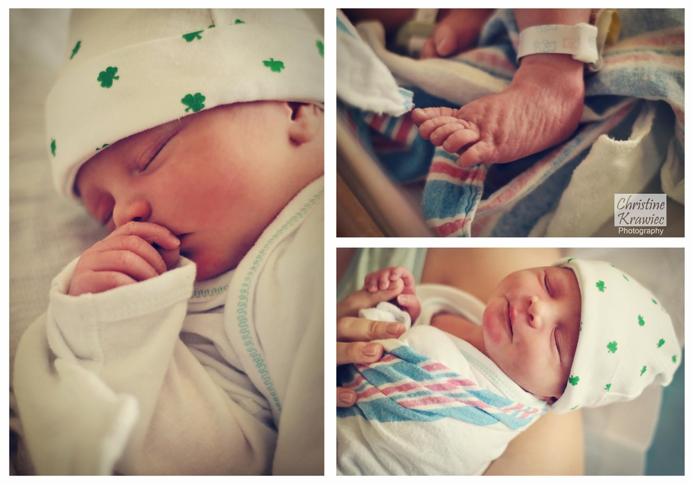 Christine Krawiec Photography - Philadelphia Newborn Hospital Photography