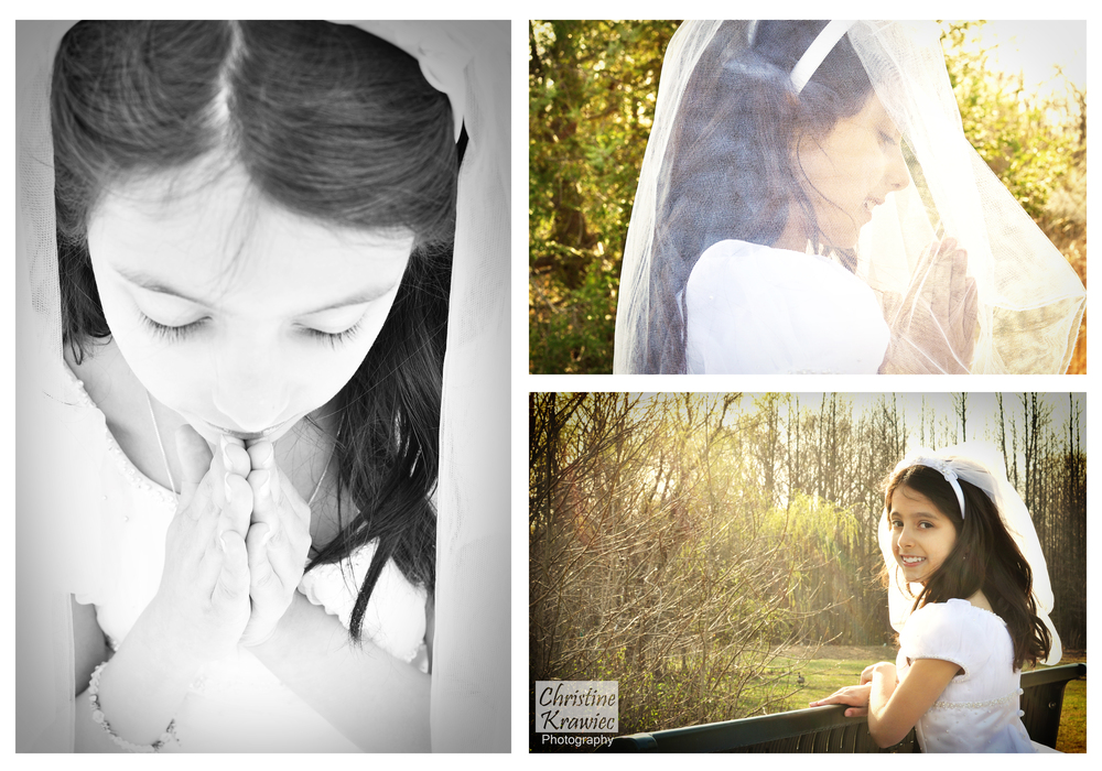 Christine Krawiec Photography - South Jersey Holy Communion Photographer