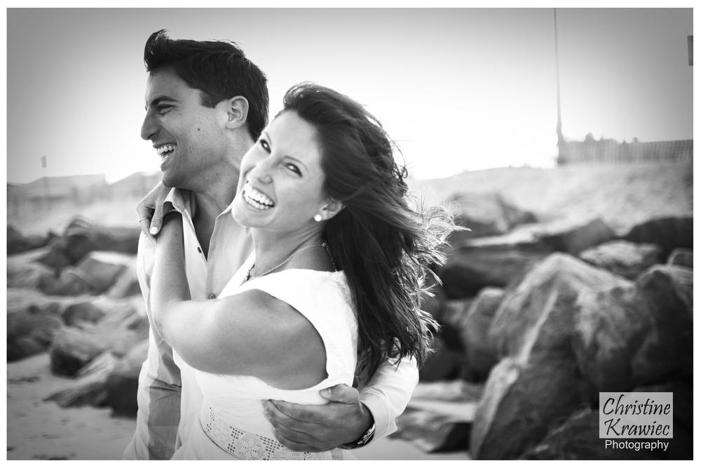 Christine Krawiec Photography - Ocean City Engagement Photographer