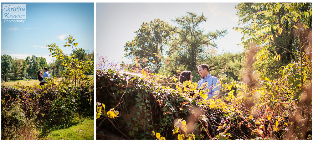 Christine Krawiec Photography - Fonthill Castle Engagement Session