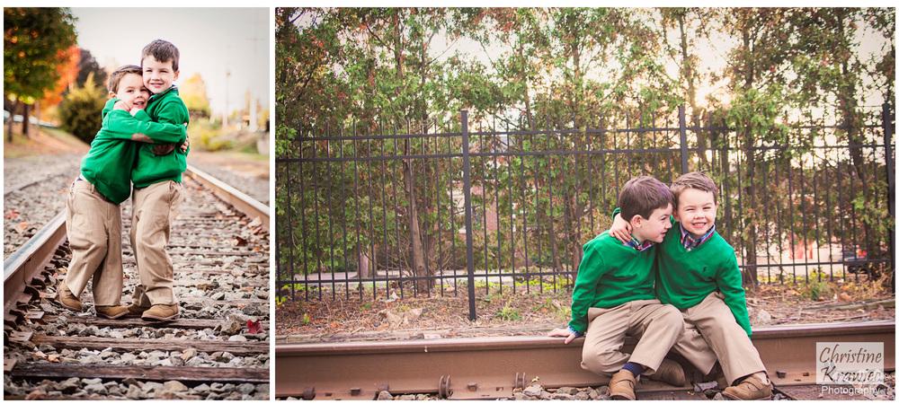 Christine Krawiec Photography - Haddon Heights Train Tracks