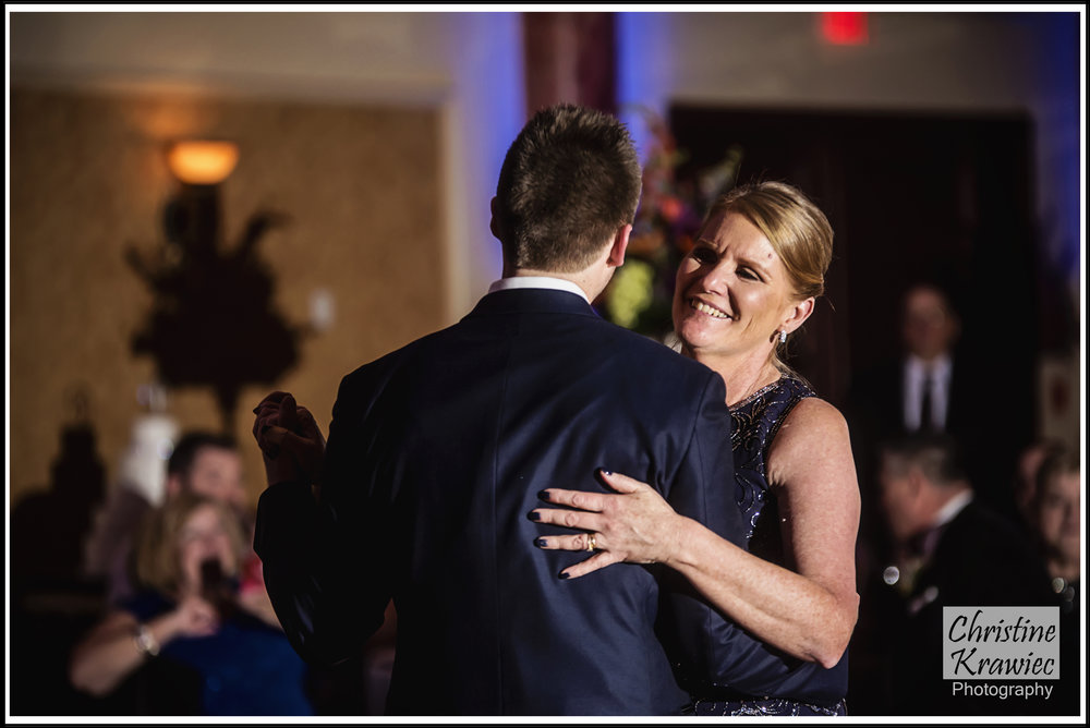 It's my favorite seeing a mom so happy to share a dance with her son