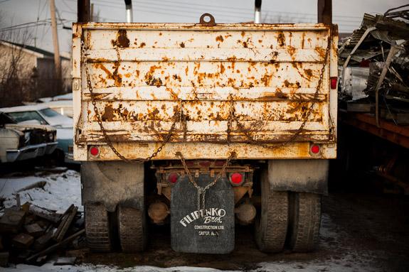 rusty tailgate