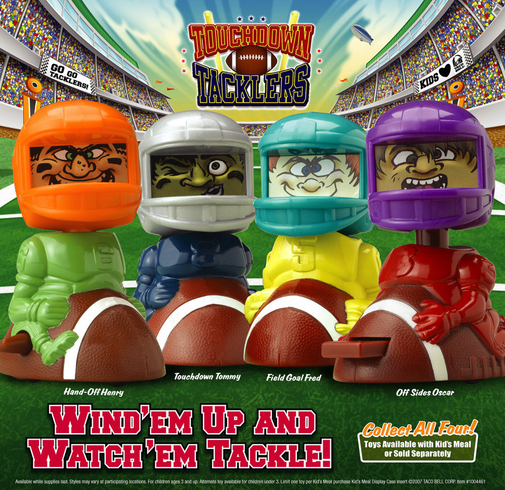 Taco Bell Touchdown Tacklers