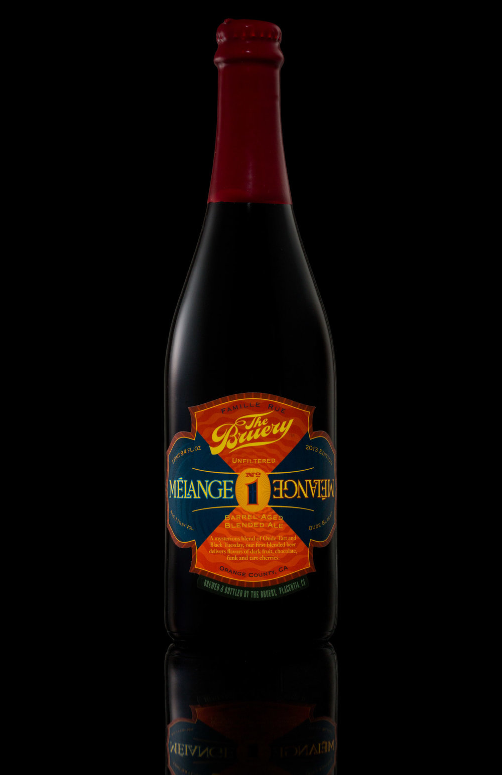 Melange No 1 by The Bruery, Orange County, CA