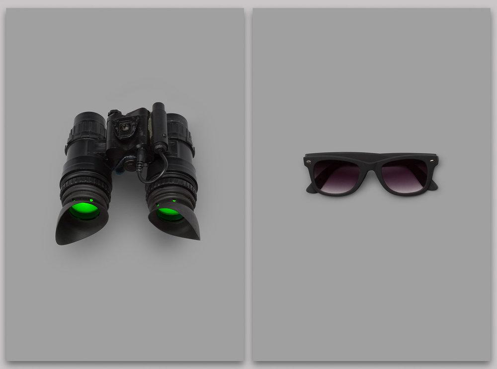 Day and night eyewear
