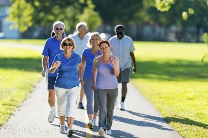 Join us for the WALK AND TALK club!     A fun and motivating way to become active and get moving!    All it takes is people willing to get physically active!    Recognize why the need for exercise is so important.    Learn the nutritional benefits of adding more fruits and vegetable to your diet.    Class is 8 weeks and begins with a walk at Freeport Municipal Park. Afterwards, we will head to Brazosport Cares Food Pantry where we will prepare and sample a delicious and nutritious recipe.    When : Wednesdays, August 8th thru September 26th 9:00 a.m.  Where: Freeport Municipal Park 9:00 a.m for walk 421 Brazosport Blvd, Freeport         Brazosport Cares Food Pantry after walk for talk and recipe                   demonstration - 916 North Gulf Blvd, Freeport   To register call Brazosport Cares at 979.239.1225 or email us at bpcares@sbcglobal.net    Sponsored by Brazosport Cares Food Pantry and Texas A&M Agrilife Better Living for Texans