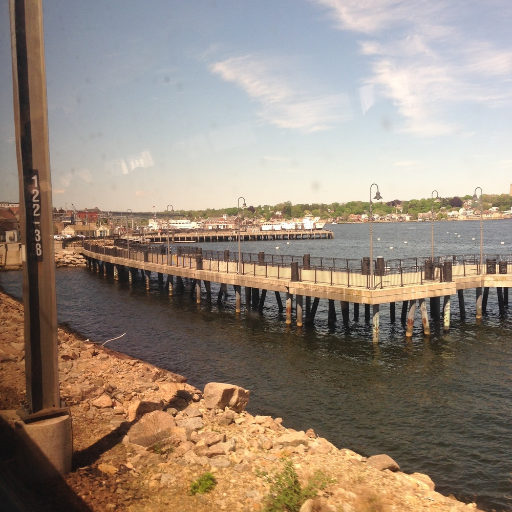 The Train ride to Providence