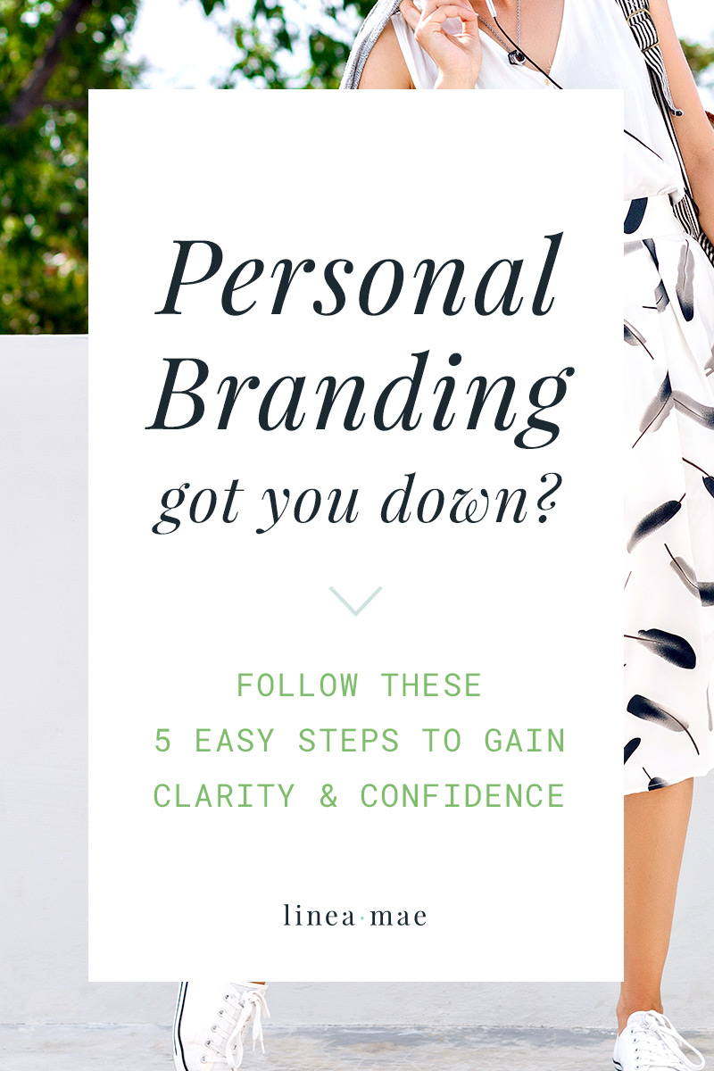 What's a personal brand? How do I create a personal brand? These questions are so common when you're a business owner. Not only is there pressure to brand your business perfectly, but you have to think of your personal brand as well. Your personal brand is all about how people perceive and interact with you. Of course you want it to work for you, not against you. Follow these 5 steps when you're ready to dive in.