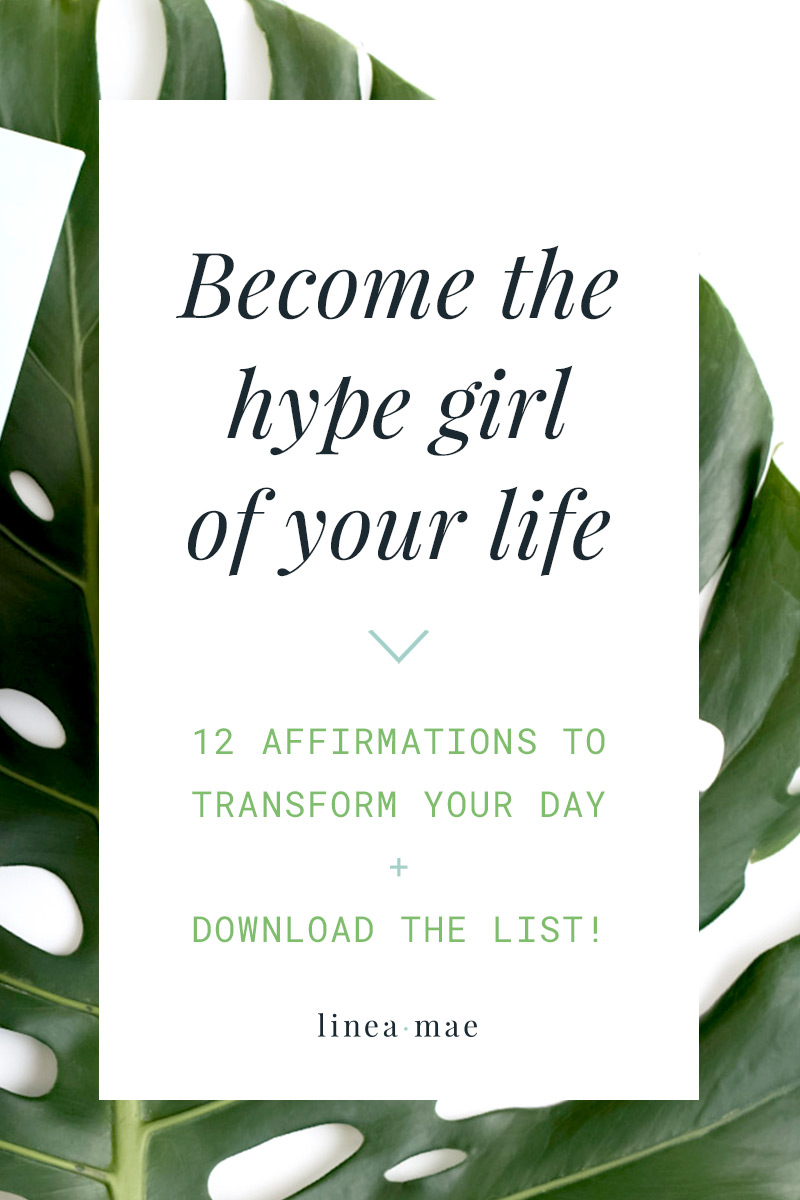 Not sure where to start with affirmations? Here's an easy, printable, affirmations list to transform your day. This list of affirmations for women is a great way to get started with affirmations, as a part of you venture into the law of attraction, or to simply start your day off with a positive mindset. Affirmations don't need to be overwhelming, these can be read together or used on their own.