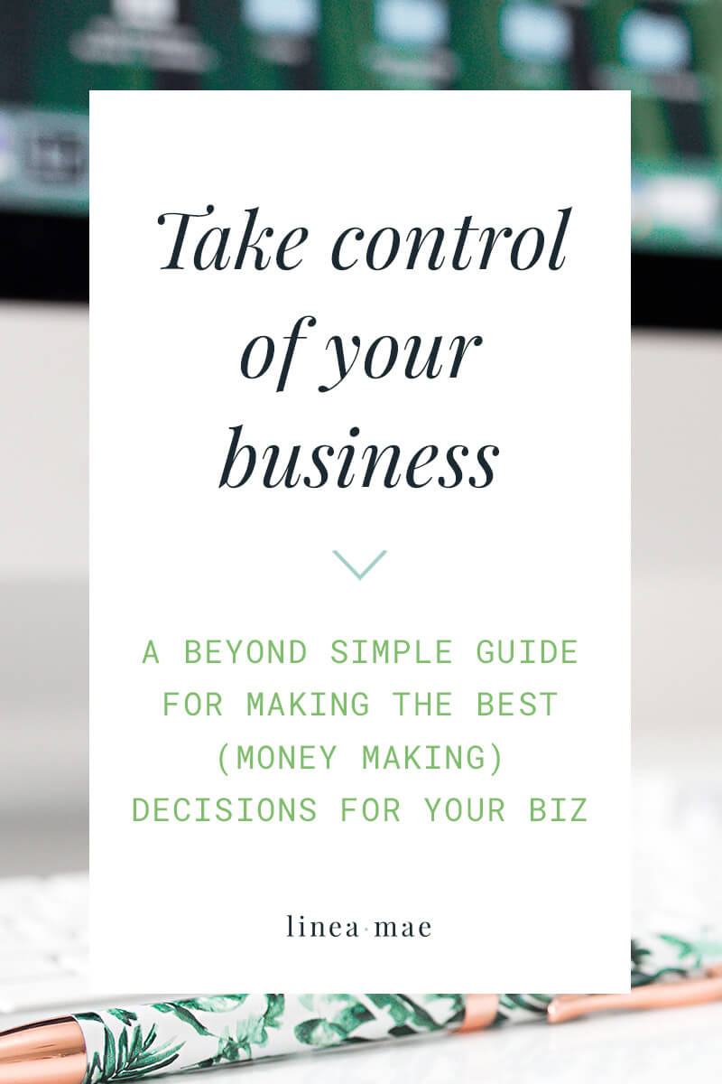 Taking control of your business is extremely important when growing your business. Are you struggling with amazing business ideas that you want to pursue... but don't actually make your life any better in the grand scheme of things? You want to move forward, but what you'd be doing in your business wouldn't help you gain time freedom or actually make more money. What do you do? When growing your business you need to make sure that you have a path to profit. Click through to read this simple guide to make sure the decisions you make lead to actual business growth.