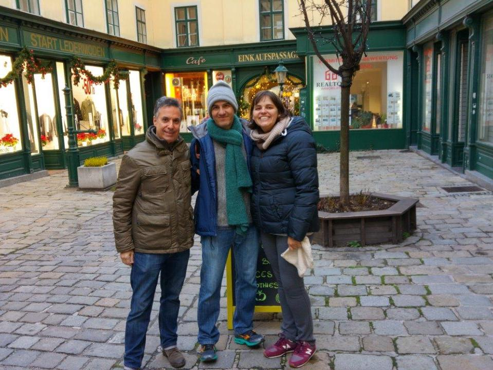 Discovering hidden courtyards with a Vienna Greeter