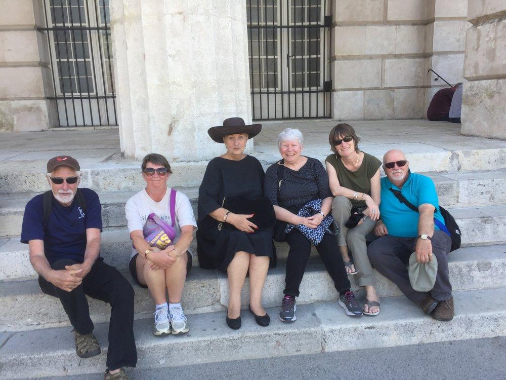 Vienna Greeters guests enjoying a free walk