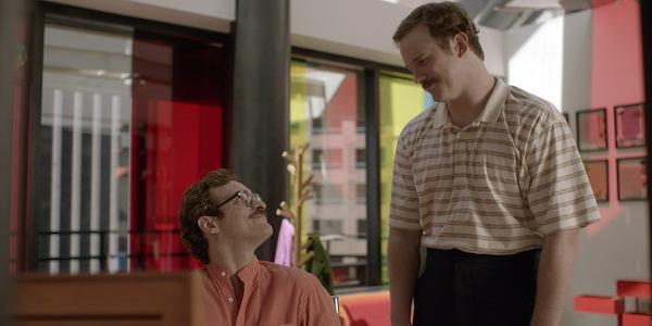 Joaquin Phoenix and Chris Pratt in Spike Jonze's  Her