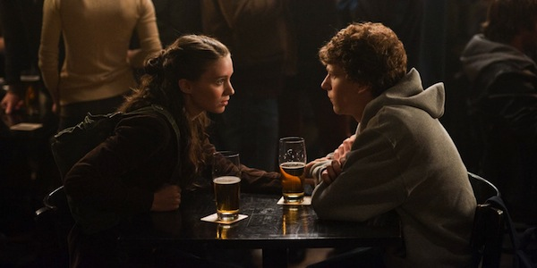 Rooney Mara and Jesse Eisenberg in David Fincher's The Social Network