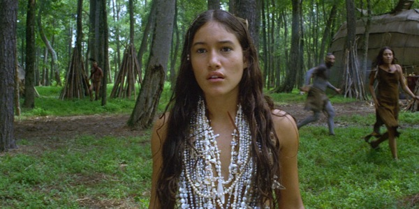 Q'Orianka Klicher in Terrence Malick's  The New World