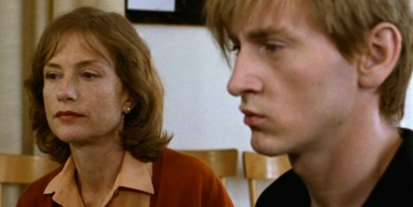 Isabelle Huppert and Benoit Magimel in Michael Haneke's The Piano Teacher