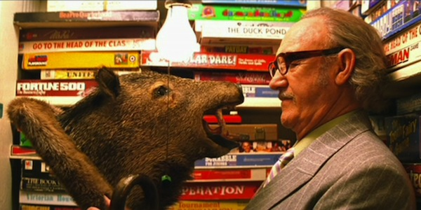 Gene Hackman in Wes Anderson's The Royal Tenenbaums