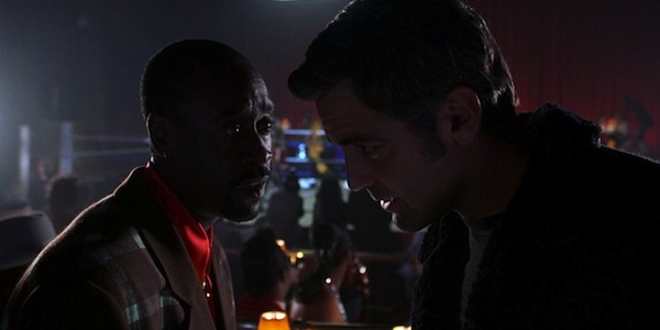 Don Cheadle and George Clooney in Steven Soderbergh's Out of Sight