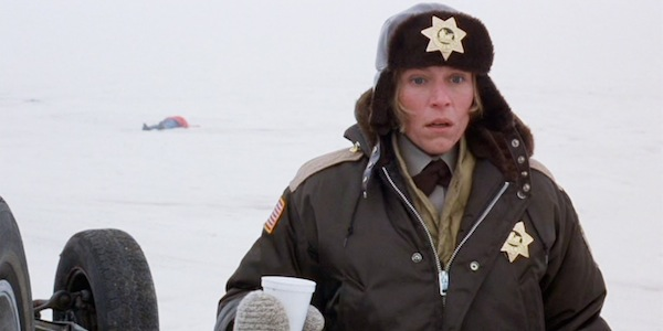 Frances McDormand in Joel Coen and Ethan Coen's  Fargo
