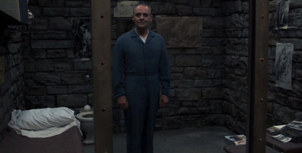 Anthony Hopkins in Jonathan Demme's   The Silence of the Lambs
