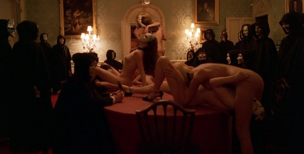 High Society in Stanley Kubrick's  Eyes Wide Shut