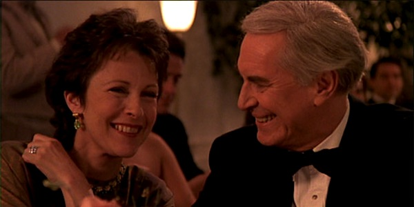Martin Landau and Claire Bloom in Woody Allen's Crimes and Misdemeanors
