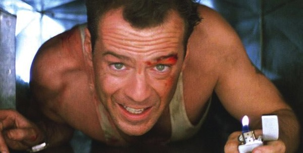 Bruce Willis in John McTiernan's  Die Hard