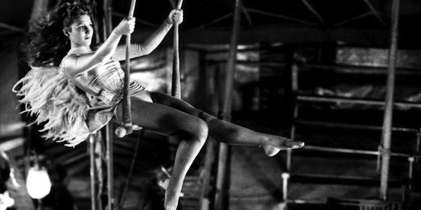 Solveig Dommartin in Wim Wenders'     Wings of Desire