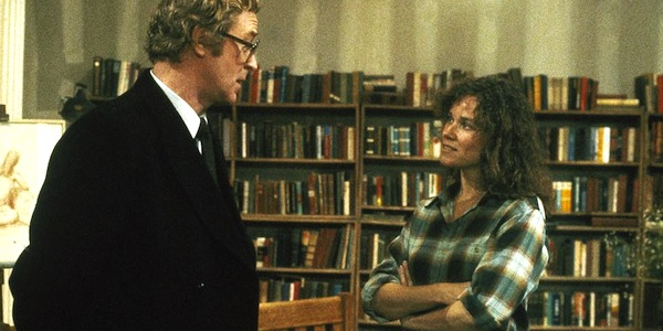 Barbara Hershey and Michael Caine in Woody Allen's Hannah and Her Sisters