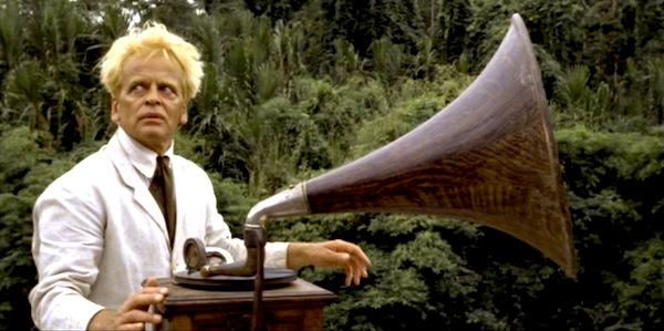 Klaus Kinski in Werner Herzog's Fitzcarraldo