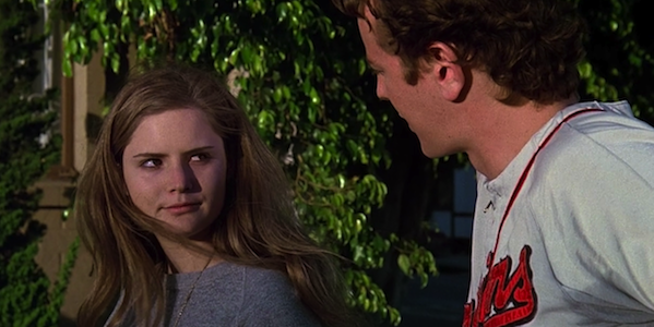 Jennifer Jason Leigh and Judge Reinhold in Amy Heckerling's Fast Times at Ridgemont High